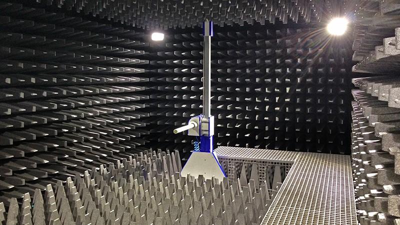 Badania kompatybilności elektromagnetycznej - komora FAR